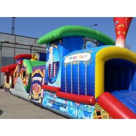 Hüpfburg Circus Train kaufen