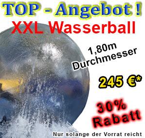 XXL Wasserball, Riesen Wasserball billig