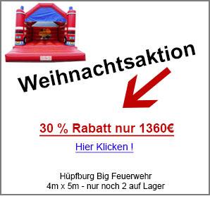 Hüpfburg Feuerwehr kaufen günstig