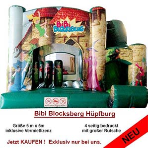Bibi Blocksberg Hüpfburg