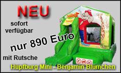 Hüpfburg Mini Benjamin Blümchen kaufen