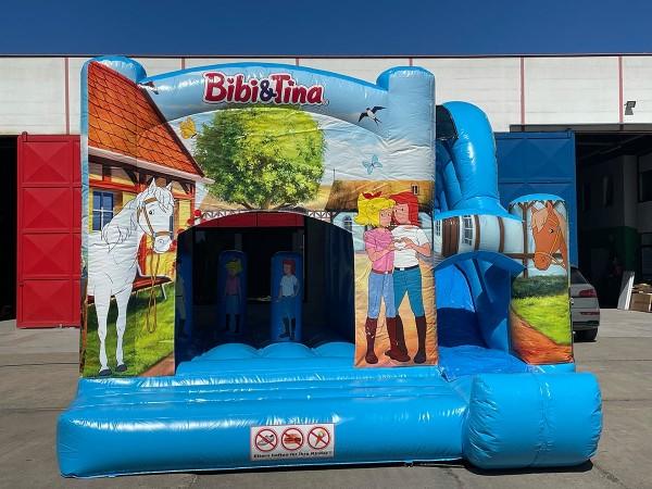 Hüpfburg Bibi & Tina von drinnen