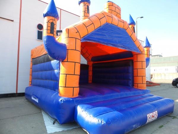 Hüpfburg Camelot blau orange jetzt kaufen