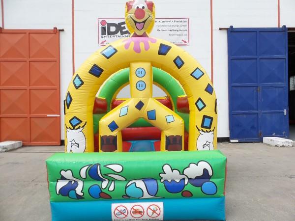 Mini Hüpfburg Clownie 3m x 4m