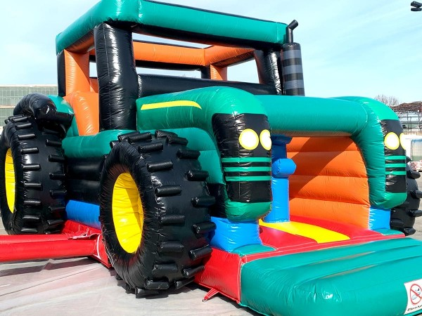 Hüpfburg Traktor kaufen