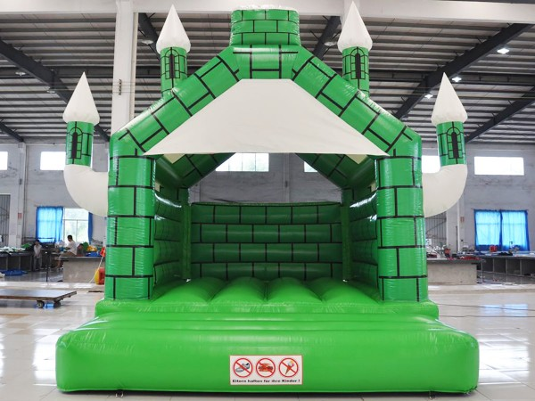 Hüpfburg Camelot grün-weiss 4m x 5m kaufen
