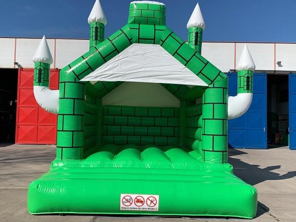 Hüpfburg Camelot grün/weiß kaufen