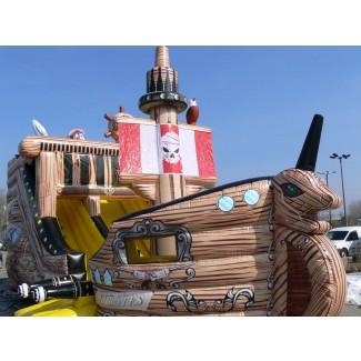 Piratenschiff mit Rutsche kaufen