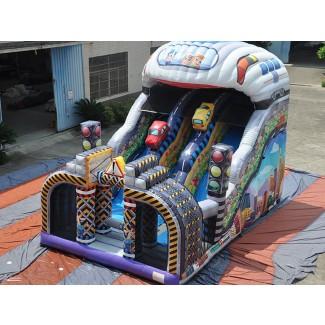 Kinderrutsche Cars von oben