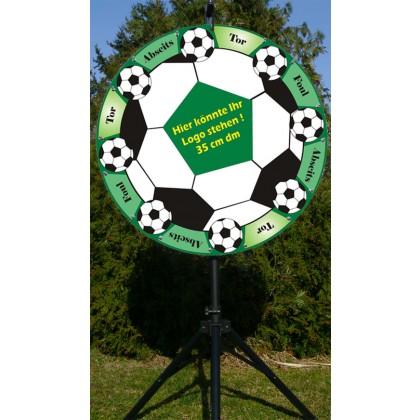 """Glücksrad im Design """"Fußball"""" 25"""