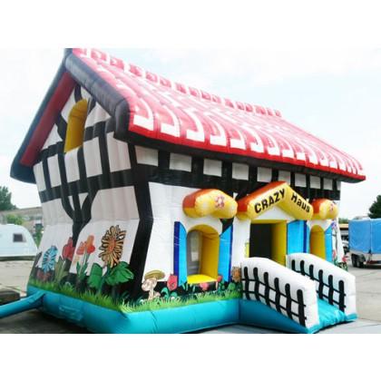 Hüpfburg Crazy- House inkl. Dach kaufen