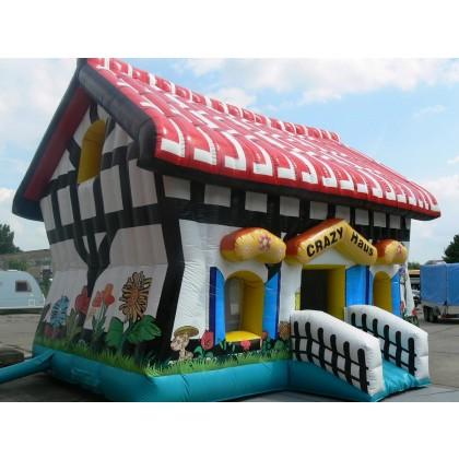 Hüpfburg Crazy House kaufen
