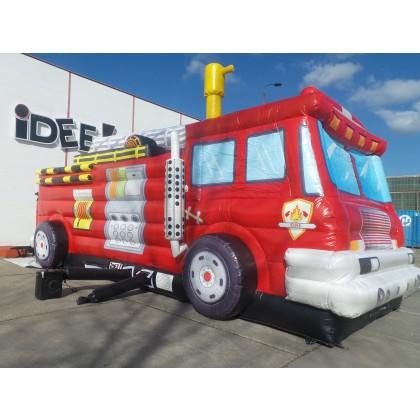 Hüpfburg Feuerwehrwagen