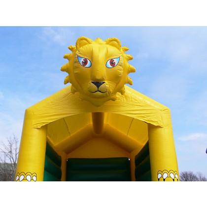 Hüpfburg Löwe inklusive Dach kaufen