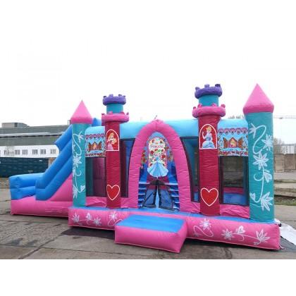 Hüpfburg Pink Princess kaufen