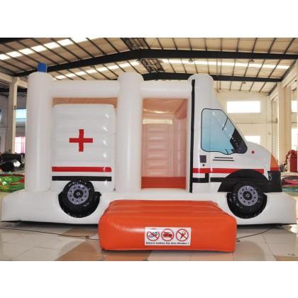 Hüpfburg Rettungsdienst - Rettungswagen