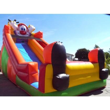 Kinderrutsche Clownie kaufen luftgeblasen