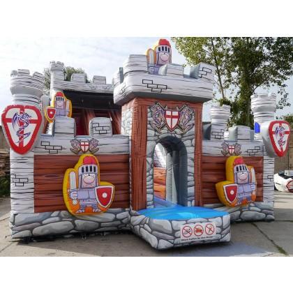 Kinderrutsche Ritterschloss