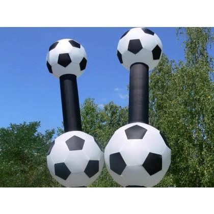 Skydancer Fußball riesig
