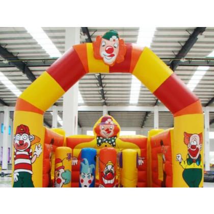 Hüpfburg + Spiel Clown