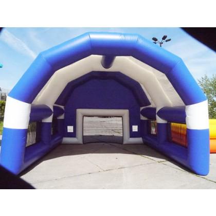 Fussballtor mit Dach Blau kaufen