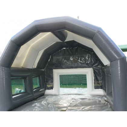 Fußballtor mit luftgeblasenem Dach kaufen