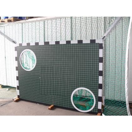 Ballfangnetz umlaufend für Holztorwand