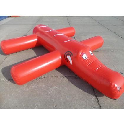 Wasser Fun Krokodil in rot