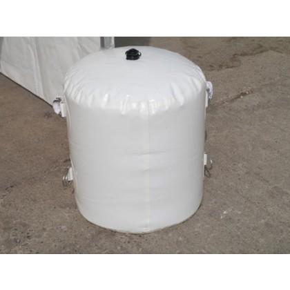 Wassersack zur Befestigung 98 kg weiß