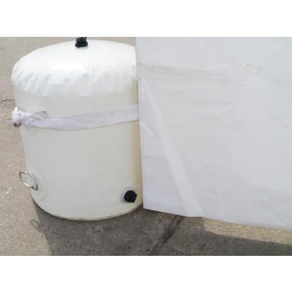 Wassersack zur Befestigung 52 kg weiß