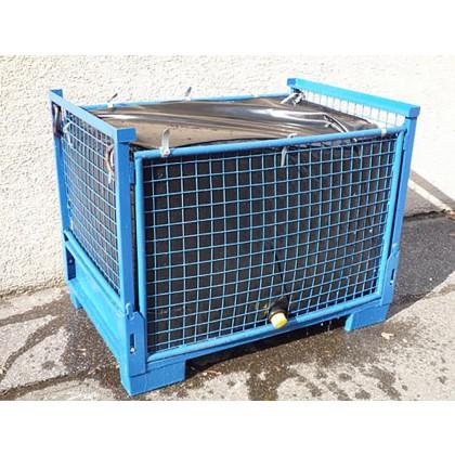 Wassertank Faltbar 1000 liter Gittercontainer