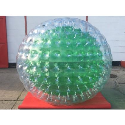 Wasser Zorbball in grün