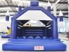 Hüpfburg kaufen blau weiss Camelot 5m x 6m bedruckt
