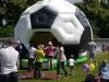 Hüpfburg Football für Fußballevents