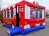 Hüpfburg kaufen Happy bus