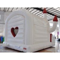 Wedding Bouncy with heart