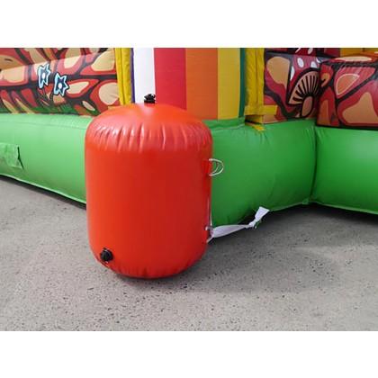 Wassersack zur Befestigung 23 kg rot