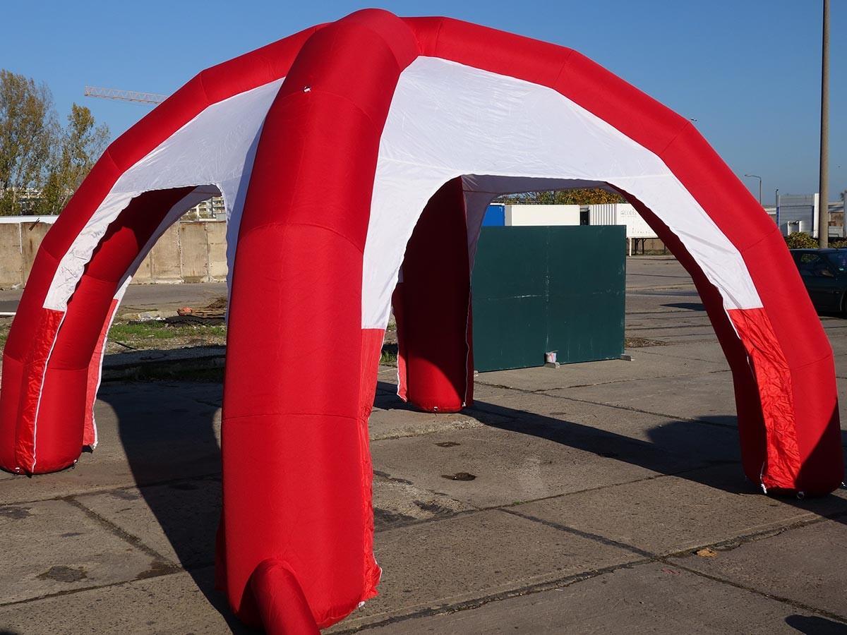 Rot Kreuz Zelt Gebraucht Kaufen : Dome zelt rot geschlossen auf bestellung auch mit ihrem