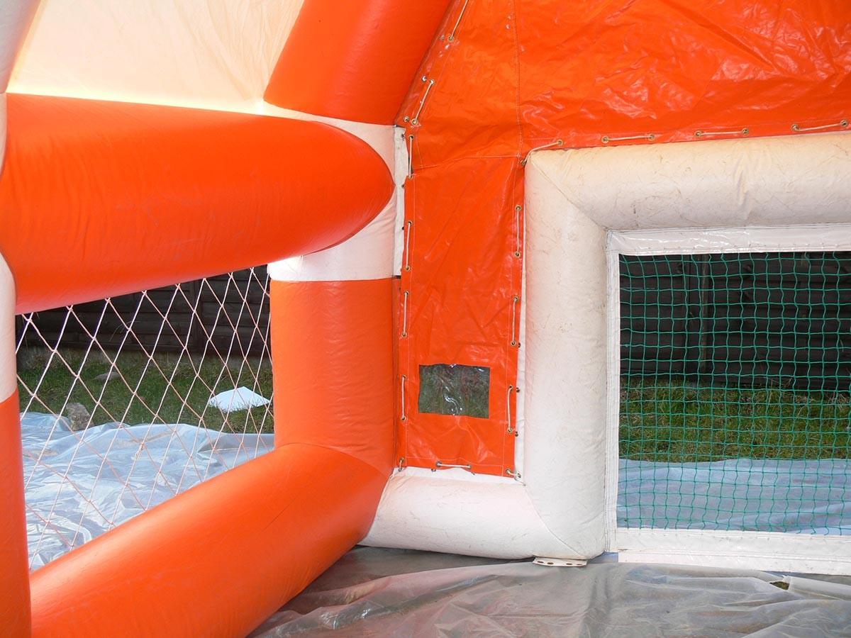 fussball eventmodul torwand f r radar orange luftgeblasen kaufen modul hersteller und verkauf. Black Bedroom Furniture Sets. Home Design Ideas