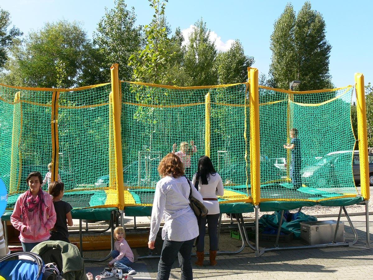 3er trampolinanlage kaufen eventmodul hersteller und verkauf. Black Bedroom Furniture Sets. Home Design Ideas